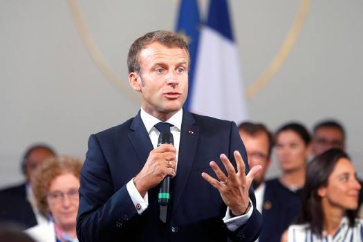 President Macron Says Beheaded Teacher Was Victim Of Stupidity, Hate