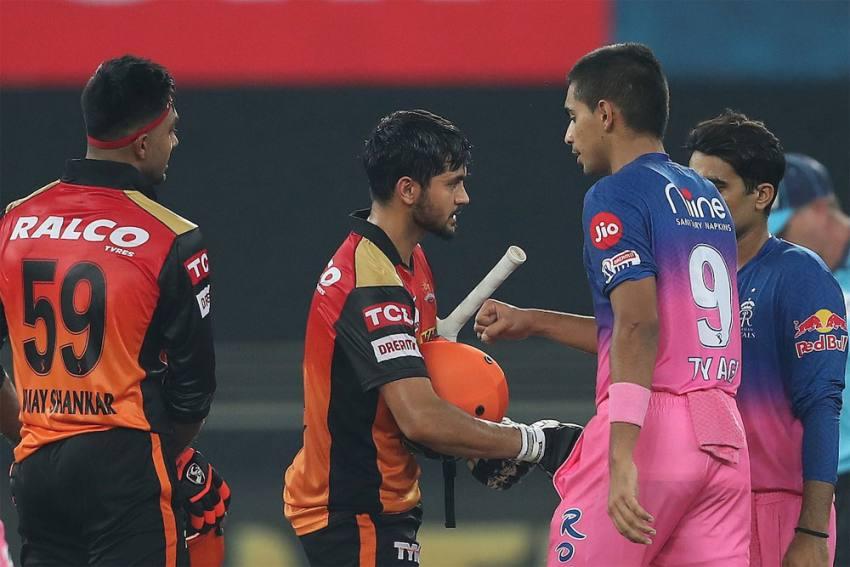 IPL 2020: Manish Pandey, Vijay Shankar Stand Gives Sunrisers Hyderabad Big Win Vs Rajasthan Royals - Highlights