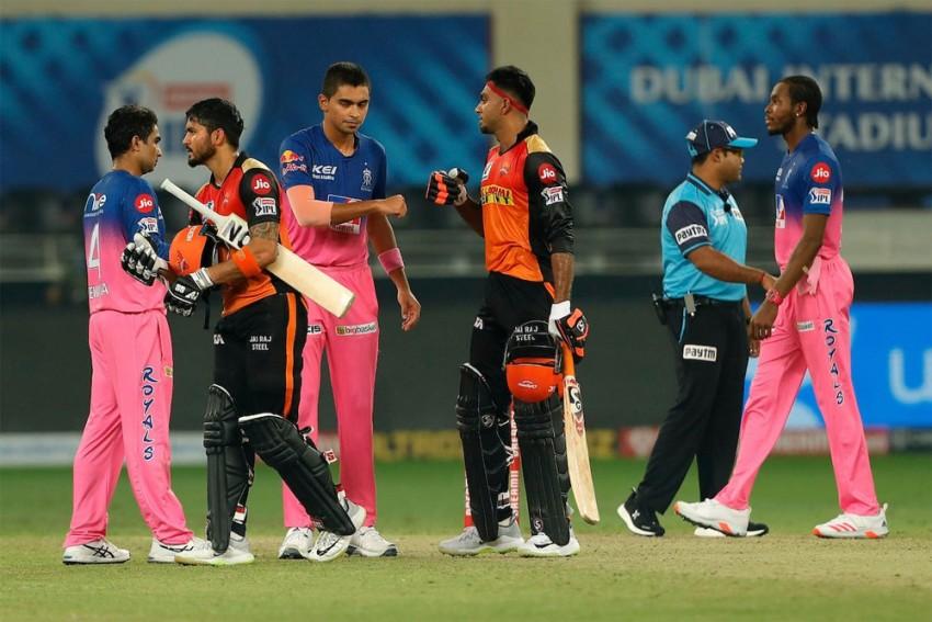 IPL 2020, Rajasthan Royals Vs Sunrisers Hyderabad, Full Scorecard
