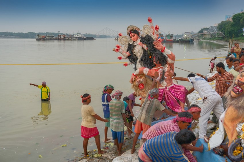 Two Ponds Earmarked For Idol Immersion In Bengal: Pollution Board