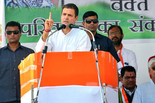 PM 'Insulted' Soldiers Over Ladakh Infiltration: Rahul At Bihar Rally