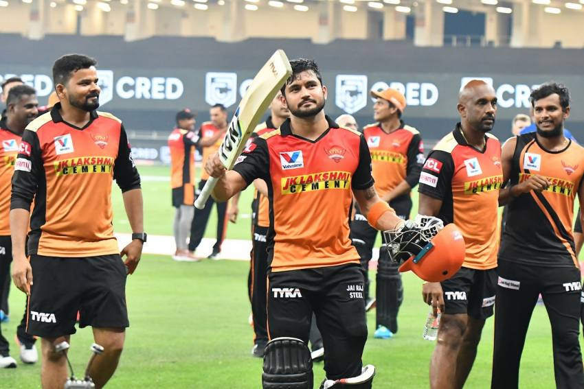 IPL 2020: Manish Pandey's Bat Gives Sunrisers Hyderabad Hope Of Playoff Berth