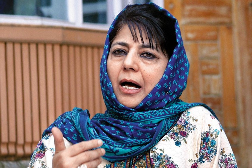 We Are Not Compatible With Today's India: Mehbooba Mufti