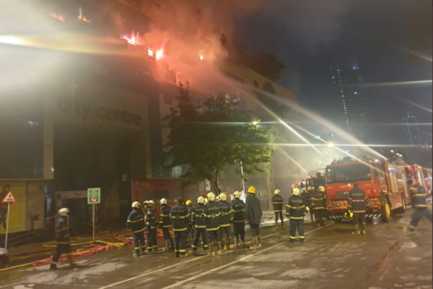 Fire At Mumbai Mall: 3,500 People Evacuated From Adjoining Building