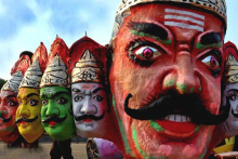 Coronavirus Shadows Darken Dussehra, Leaves Ravana Effigy Business On Last Legs