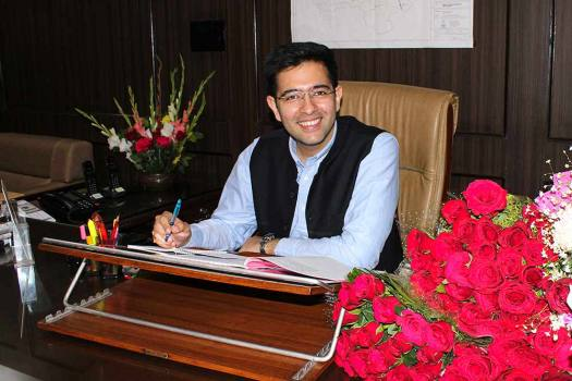 Raghav Chadha's Office Helps Family Find Their Missing Daughter