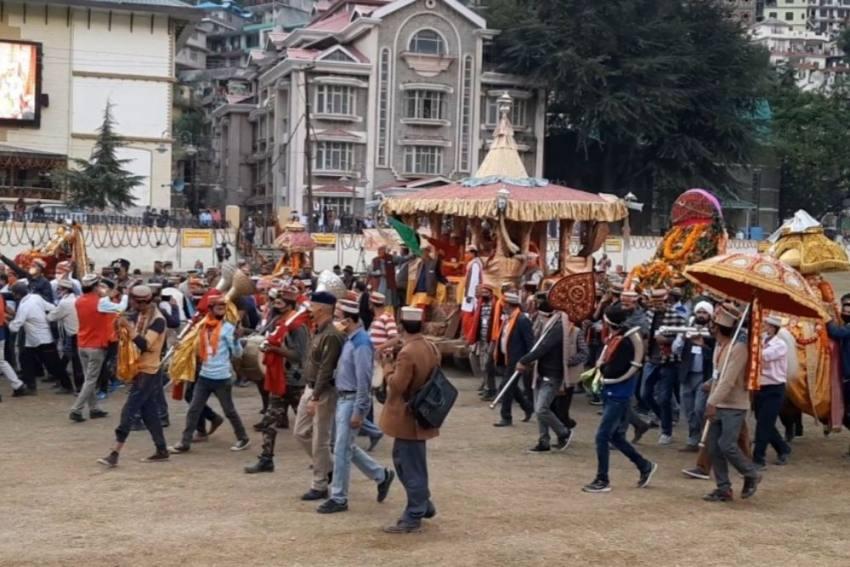 Despite Low Key Dussehra, Kullu Deity Pledges Protection
