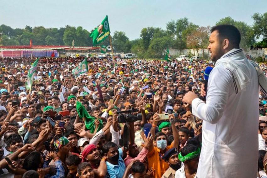 Nitish Kumar No Longer Capable Of Managing Bihar's Affairs, Says Tejashwi Yadav