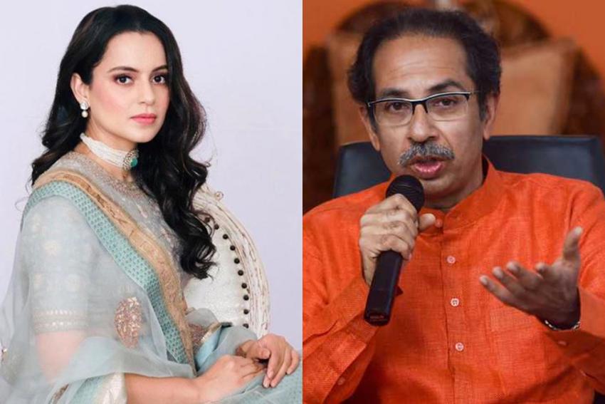 In Fresh War Of Words, Kangana Ranaut Calls Uddhav Thackeray 'Worst Product Of Nepotism'