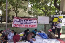 Pending Salaries: Delhi's Civic Body-Run Hospital Staff Go On Indefinite Strike