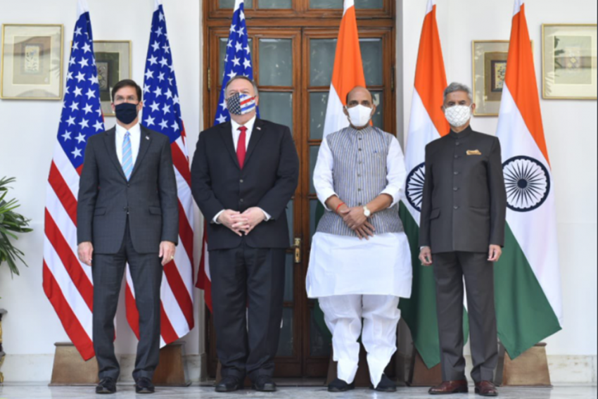India, US Ink Defence Pact, Pompeo Says US Stands With India On Galwan Valley Clash