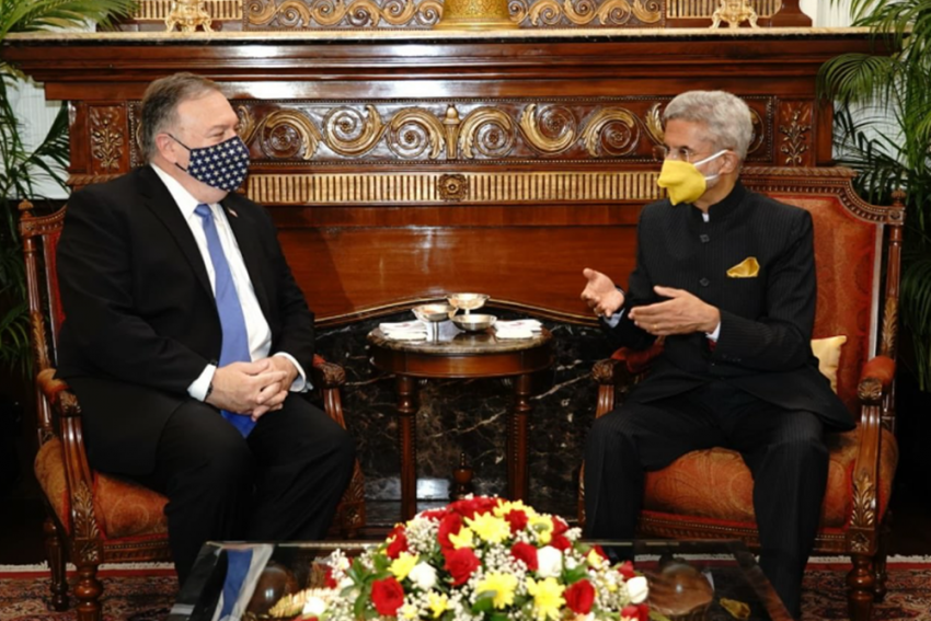 'Shared Concerns And Interests' Discussed By India And US Ahead Of 2+2 Dialogue