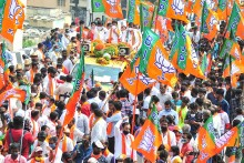 SP nominee Rejoins BJP Ahead Of MP bypoll