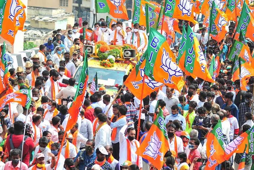 SP nominee Rejoins BJP Ahead Of MP bypoll