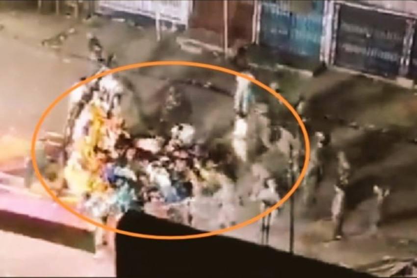 EC Orders Removal Of Munger SP, DM Over Violence During Durga Idol Immersion