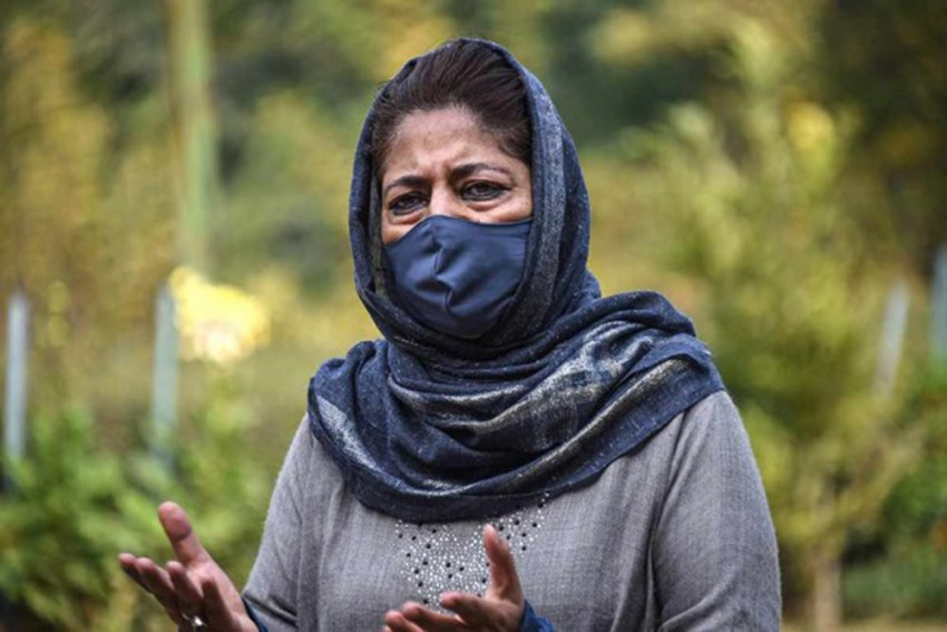 Centre Has Turned J&K Into A Big Jail, Says Mehbooba Mufti