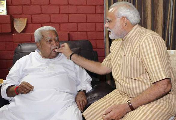 PM Condoles Demise Of Former Gujarat CM Keshubhai Patel