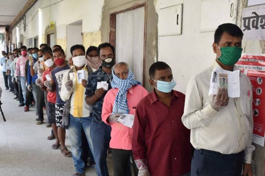 Bihar's First Phase Of Polling Sees 54% Voter Turnout