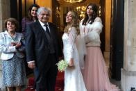 Harish Salve Marries London-Based Artist Caroline Brossard In Church Ceremony