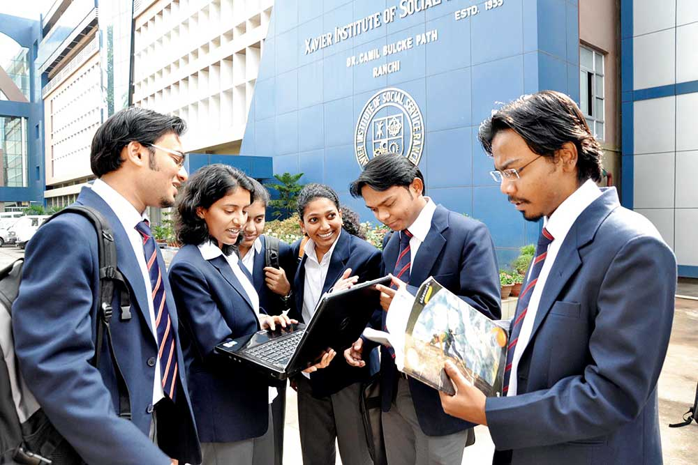 Top Private B Schools - Central Zone