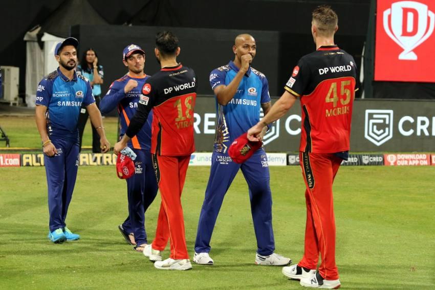 IPL 2020: Chris Morris, Hardik Pandya Reprimanded For Outburst During RCB Vs MI Clash