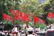 Red-Green Tiles In Railway Hospital Toilet Insulting Party's Flag: Samajwadi Party