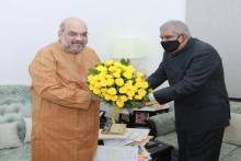 WB Governor Meets Home Minister Amit Shah And Discusses 'State Of Affairs'