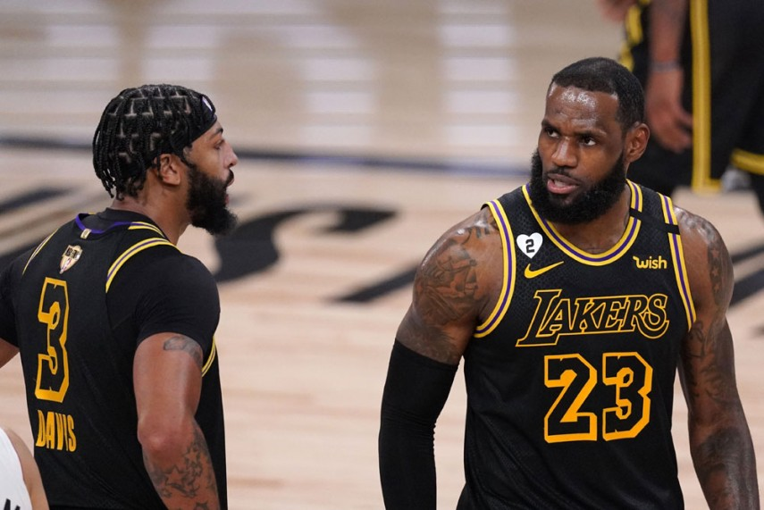 Nba Finals La Lakers Move 2 0 Ahead Of Miami Heat As Anthony Davis And Lebron James Star Again
