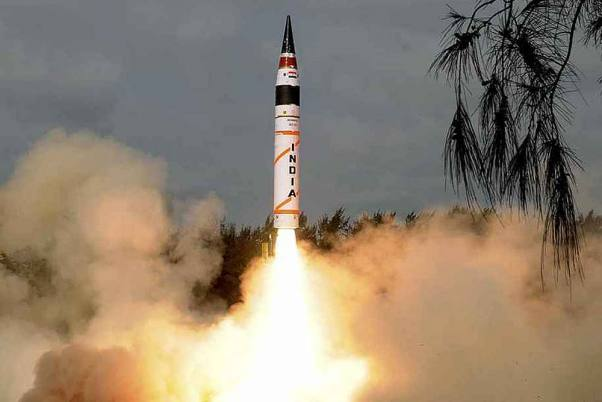Hypersonic Missile 'Shaurya' Successfully Test Fired Today