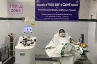 Dharmendra Pradhan Becomes First Union Minister To Donate Plasma
