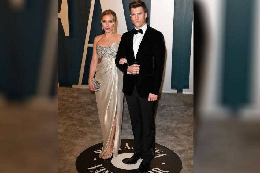 Hollywood Stars Scarlett Johansson, Colin Jost Tie Knot In Private Ceremony