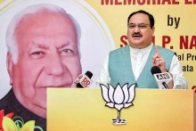 RJD, Congress Creating Hurdles In Ram Temple Construction: Nadda