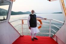 PM Modi Launches Seaplane Service In Gujarat