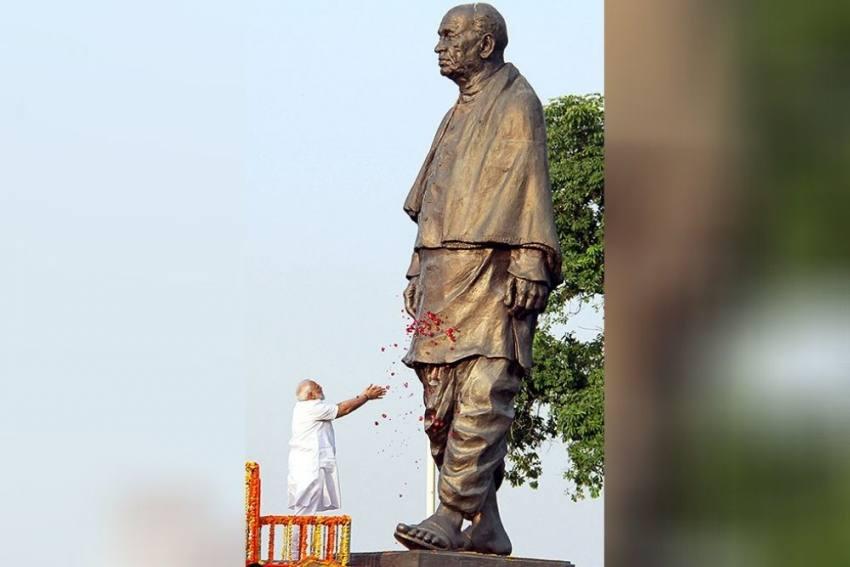 Top Dignitaries Pay Floral Tributes To Sardar Vallabhbhai Patel On His Birth Anniversary