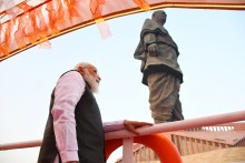 Rashtriya Ekta Diwas: PM Narendra Modi Pays Tribute To Sardar Patel At Statue Of Unity