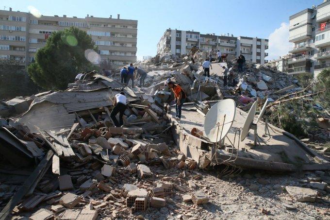 Death Toll Reaches 27, More Than 800 Injured In Quake-Hit Turkey