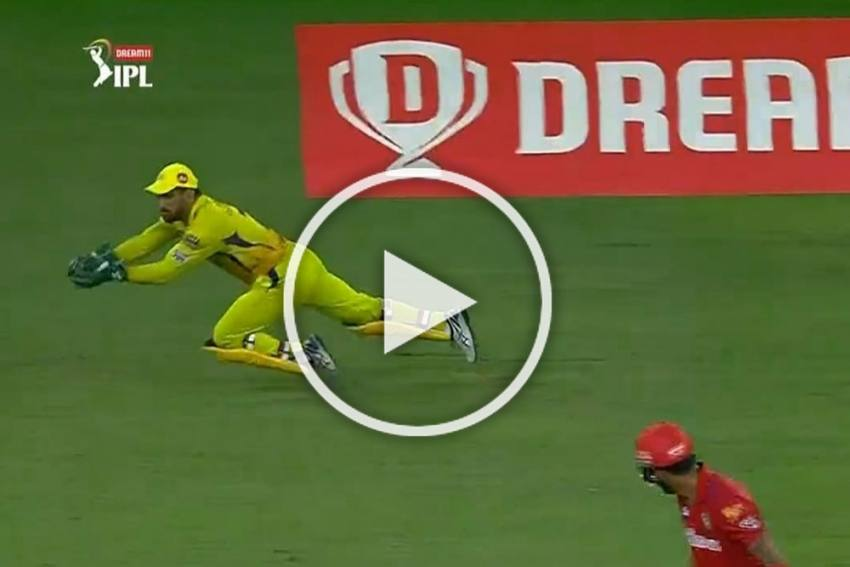 IPL 2020, KXIP Vs CSK: MS Dhoni Completes 100 Catches In Stunning Fashion - WATCH