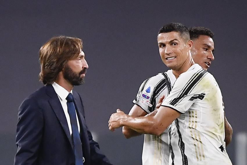 Andrea Pirlo Hopes Cristiano Ronaldo Run Continues - I Wish He Scores One Or Two Goals Every Game For Juventus