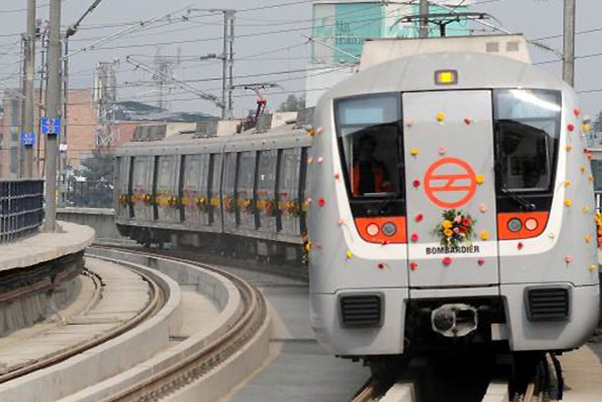 Delhi Metro: Construction Of Unfinished Stretch On Pink Line Delayed Due To Covid