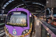 Piyush Goyal Inaugurates Kolkata's Phoolbagan Station Of East West Metro Corridor
