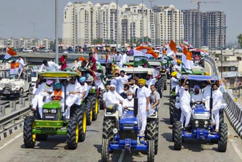 Rahul Says, 'PM Modi A Puppet In Hands Of Ambani-Adani' At Punjab's Tractor Rally