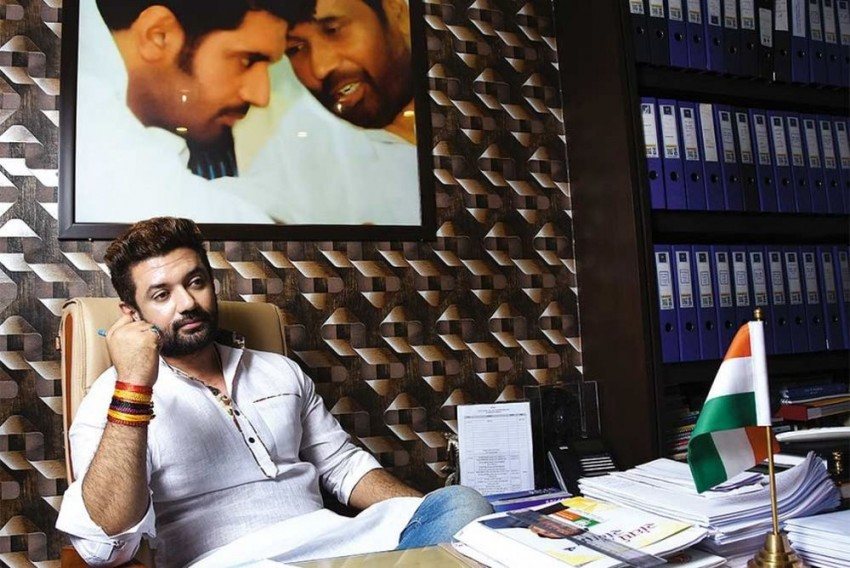 In Absence Of Ailing Paswan, Son Chirag Left To Fight His Own Battle In Bihar Polls