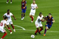 Lionel Messi Stifled Against His Favourite Opposition As Sevilla Show Their Mettle