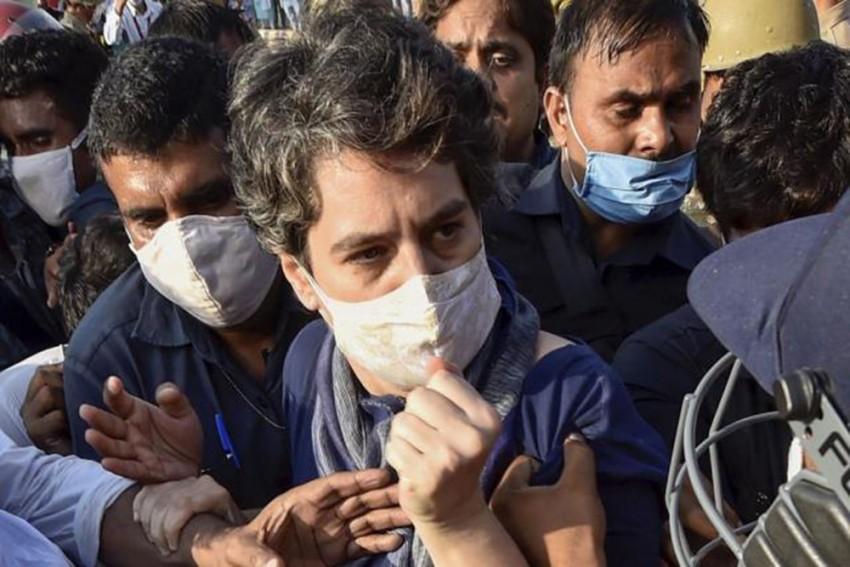 Noida Police Apologises For Manhandling Priyanka Gandhi, Orders Probe