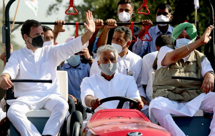 Smriti Irani Calls Rahul Gandhi A 'VIP Kisan'