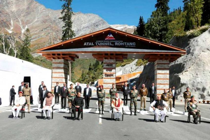 Three Accidents In Atal Rohtang Tunnel In 72 Hours Since Inauguration