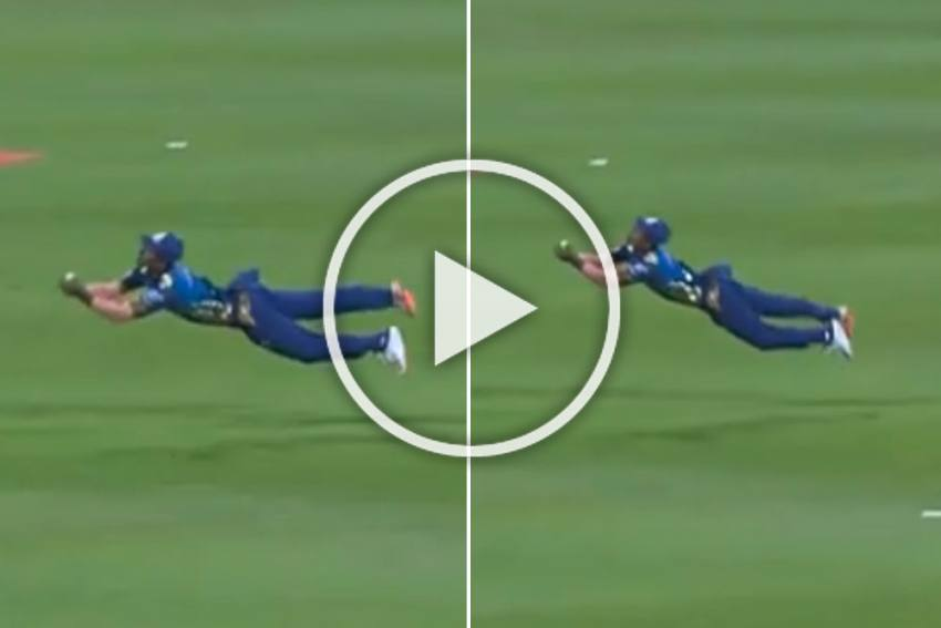 IPL 2020, This One Is Superman Catch: WATCH Anukul Roy's Unbelievable Fielding