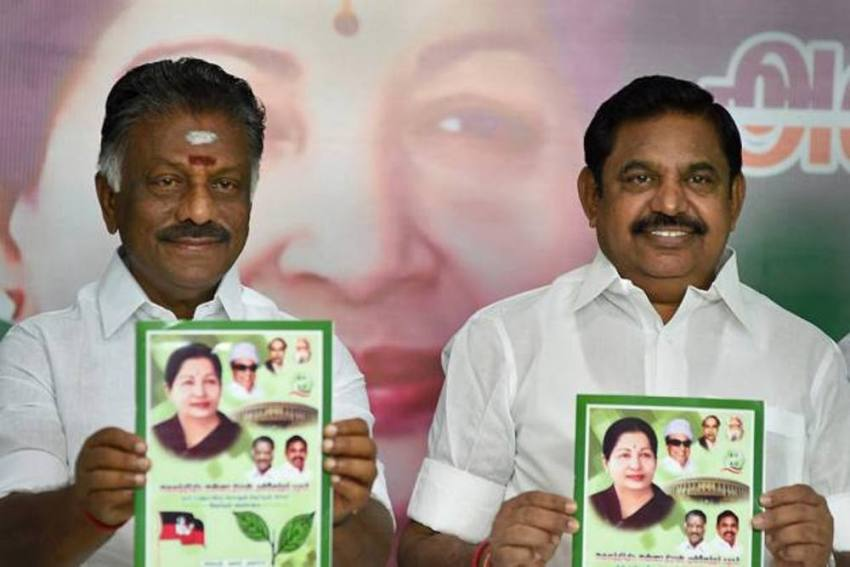With EPS As CM Candidate, AIADMK Looks For Continuity