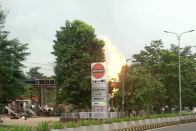 Major Fire At Indian Oil Petrol Pump In Bhubaneshwar, 8 Injured