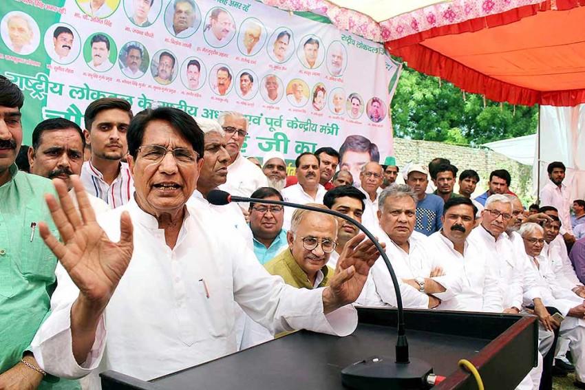 Ahead Of RLD Rally Against Farm Bills Security Tightened In UP's Muzaffarnagar
